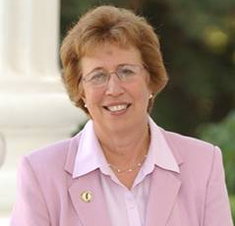 State Senate Governance and Finance Committee Chair Lois Wolk