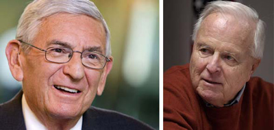 Eli Broad and Richard Riordan