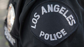 LAPD patch. Photo by MyNewsLA.com