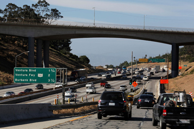 Officials hope to avert traffic nightmare during 405 Freeway