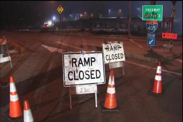 405 Freeway Closure Starts Tuesday Night | LAPPL - Los