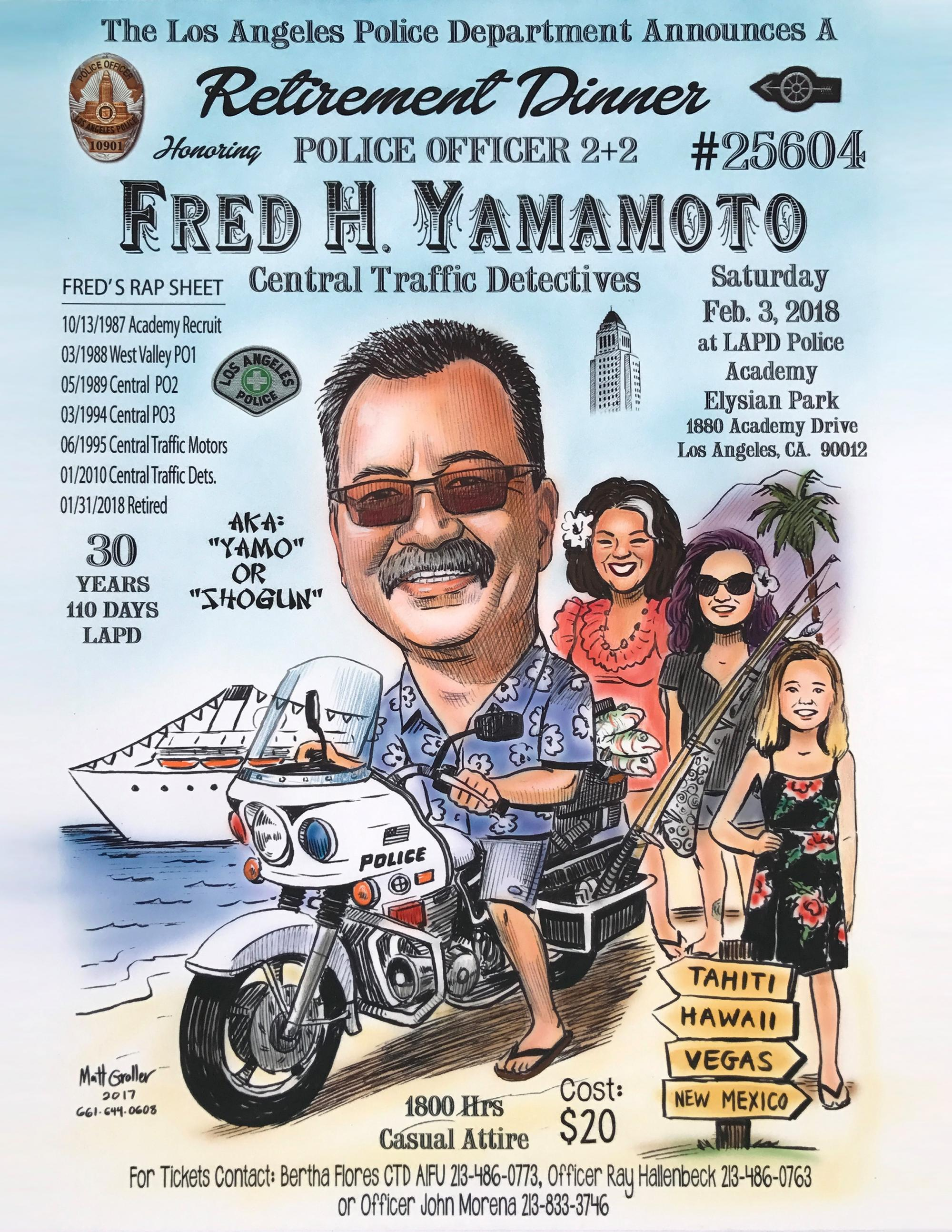 Fred Yamamoto Retirement   LAPPL - Los Angeles Police Protective League