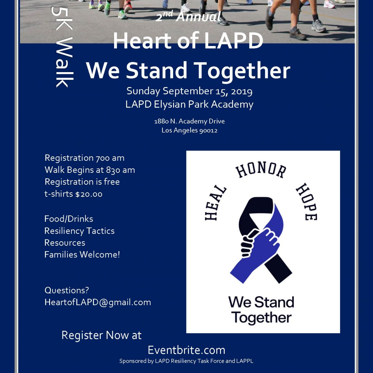 Upcoming Events | LAPPL - Los Angeles Police Protective League