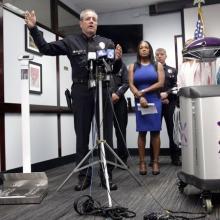 Following rat infestation, LAPD deploys robot to sanitize Central